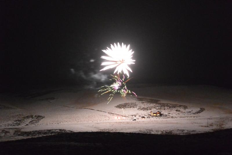 Jan 1, 2014, 00:01 hrs. Great display of fireworks, lasting 30 min. by Michael